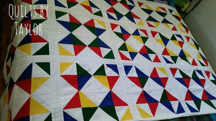 Ohio Star Quilt, A Quilt in the making, Custom Made Quilts : how quilts are made - Adamdwight.com